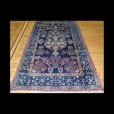 rare antique persian lavar kerman oriental tree of life design area rug 5 x 7