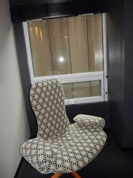 Uncomfortable chair at least for us Picture of Alt Hotel Ottawa