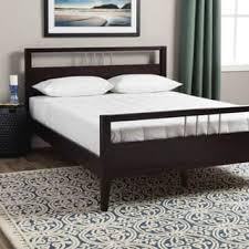 chrome bedroom furniture. Chrome Accented Queen-size Platform Bed Bedroom Furniture