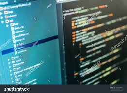 Source Code Photo Web Site Codes Stock Photo Edit Now 392532007