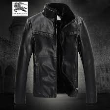 burberry mens leather jackets for