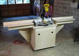 portable chop saw table. homemade miter saw tables make a portable table chop