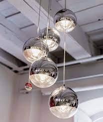 multi ball hanging pendant 5 light
