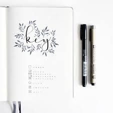 The Perfect Bullet Journal Key For Rapid Logging