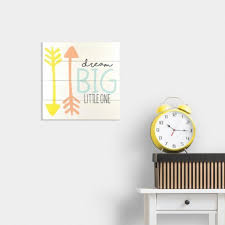 decorate with dream big little one wall decor