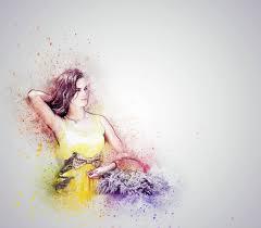 картинки рука абстрактные девушка женщина фотография марочный