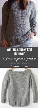 Easy Sweater Knitting Pattern Free Unique Decorating Design