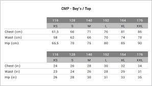 Cmp Size Chart Cmp Ws Fleece Knitted Jacket