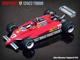 Gilles villeneuve) and #28 (driver: Paperized Ferrari 126c2 Paper Model Ferrari Paper Models Ferrari F1
