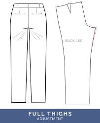 Pants Patterns Simple Pants Fitting Adjustments Best Tips For Pants Fitting The Sasha