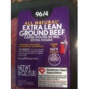 tsd s extra lean ground beef nutrition grade b