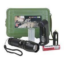 Đèn pin siêu sáng LED mini cầm tay chống nước tự vệ chuyên dụng tại Hà Nội