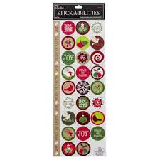 Christmas Envelope Seals Foil Stickers | Hobby Lobby