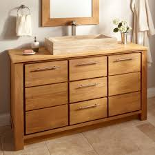 Teak Vanity Bathroom 60 Venica Teak Single Vessel Sink Vanity Bathroom Vanities