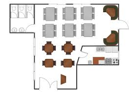 Floor Plan Symbols Chart Restaurant Floor Plans Samples Column Chart Template
