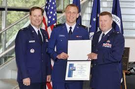 arneberg top cadet at u s air force