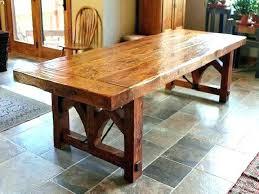 rustic dining table diy. Reclaimed Wood Dining Table Diy Distressed Set Rustic  Room Luxury O