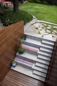 patio steps pea size x: patio stairs benches opposite an outdoor movie screen would be awesome
