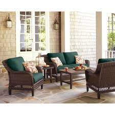 hampton bay woodbury 4 piece dark brown