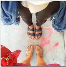 lilylove sandals grey black