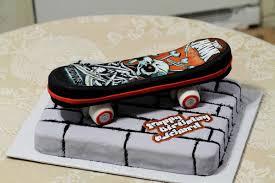 Harley Davidson Cake Decorations Skateboard Cakes Decoration Ideas Little Birthday Cakes