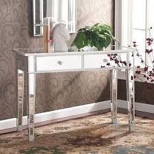 mirrored entryway furniture. mirrored accent table console entryway furniture hallway storage silver sofa new i