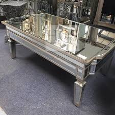 mirror coffee table. antique mirrored coffee table with storage mirror