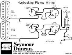 seymour duncan wiring diagram see also seymourduncan schematics humbucking two pickup gibsons