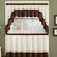 Contemporary Kitchen Curtains Kitchen Curtains And Valances