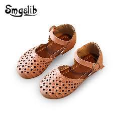 <b>Girls sandals Summer toddler</b> gladiator sandals flat shoes Fashion ...