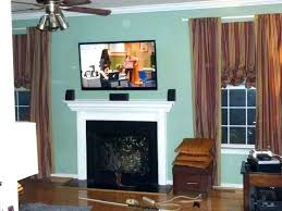 tv stand over fireplace mounting a over fireplace flat screen gas big mantle brick electric mantel stand fireplace mounting over tv stand with electric