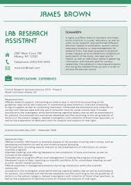 Best Cover Letter 2016 Green Latest Resume Format Lab Research With