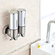 bathroom soap dispensers wall mounted. Bathroom Soap Dispenser Wall Mounted Manual Liquid Box Holder Dispensers S