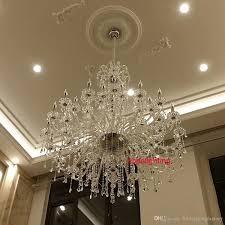 modern large crystal chandelier for foyer big crystal chandelier
