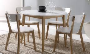 Naturel Ensemble Table Extensible Et Chaise Chaise Table Chaise ...