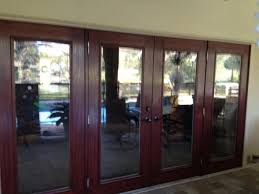 fiberglass french door with blinds sliding glass door replacement with pvc jambs