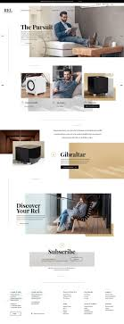 Examples Of Trendy  Modern Web Design From Up North - Web design from home
