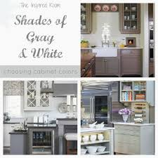 painted kitchen cabinets color ideas best of shades of neutral gray white kitchens choosing