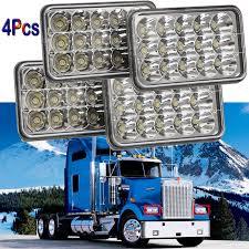 Peterbilt 379 Rear Light Bar Details About Cree Led Headlight For Kenworth T800 T400 T600 Peterbilt 379 357 Freightliner Us