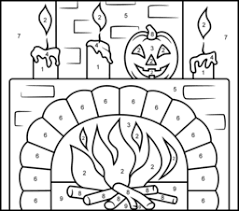 Small Picture Halloween Coloring Pages Print FunyColoring