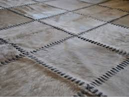 excellent patchwork cowhide rug for cool home interior flooring