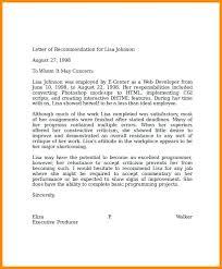 Recommendation Letter For Programmer Professional Reference Letter Putasgae Info
