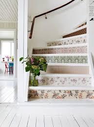 Diy Wallpaper Your Stairs Wallpaper Huis Ideeën Diy Huis Und