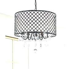awesome crystal drum shade chandelier and organza silk drum shade crystal chandelier traditional dining chandelier with