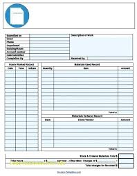 Electrical Invoice Template Free Simple Free Work order Invoice Template Free Template 100Free 50
