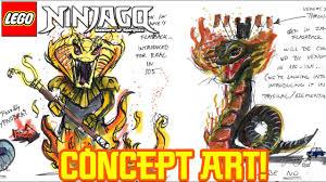 Ninjago Season 11: Pyro Viper Concept Art Revealed! - YouTube