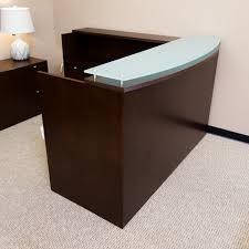 office furniture reception desks large receptionist desk. office furniture reception desks large receptionist desk used walnut der1526003 s