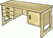 desk clipart. Exellent Clipart Desk Clipart With T