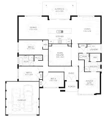 The Plan Also Includes A Home Theatre, An Ensuite And Walk In Robe. I Love  How The Kitchen/living Area Are At The Back Of The Home So You Can Take In  The ...