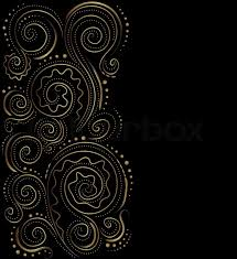Blue And Gold Design 19 Black And Gold Vector Designs Images Black Blue And